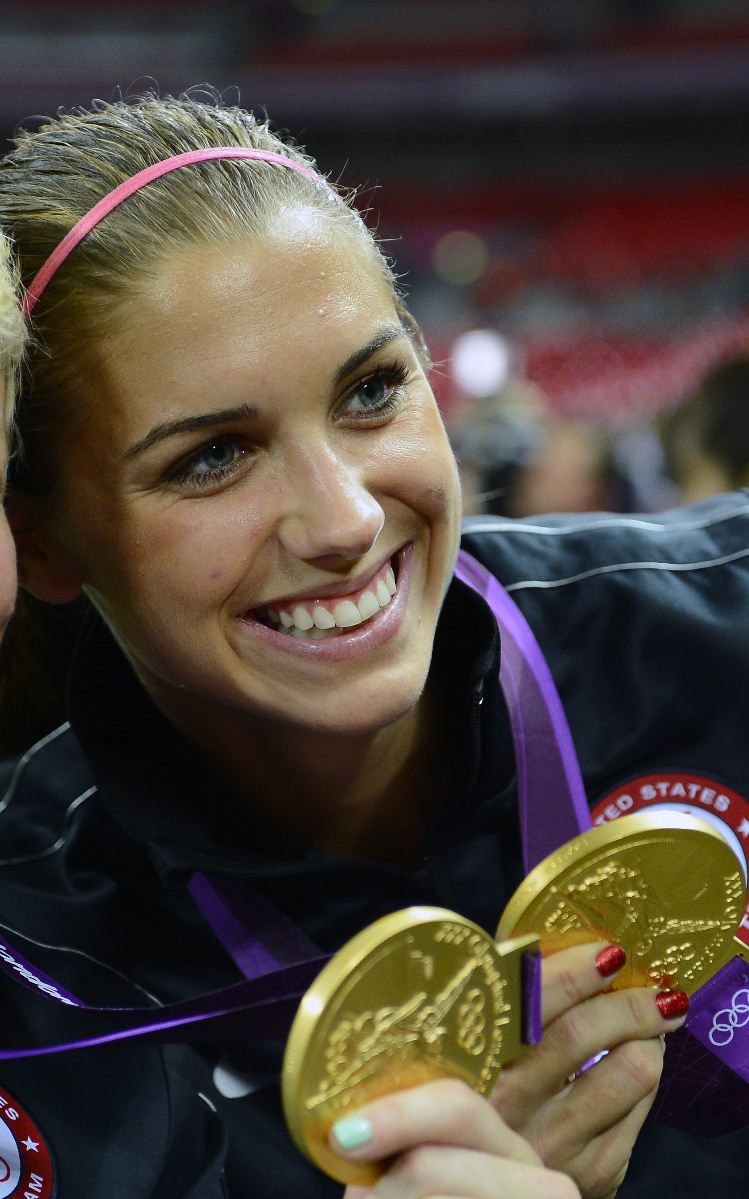 Want To See Alex Morgan Splash Around In A Bikini?