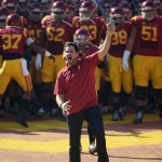 Matt Leinart Doesn't Want To Grow Up. Leads USC Onto Field… Again