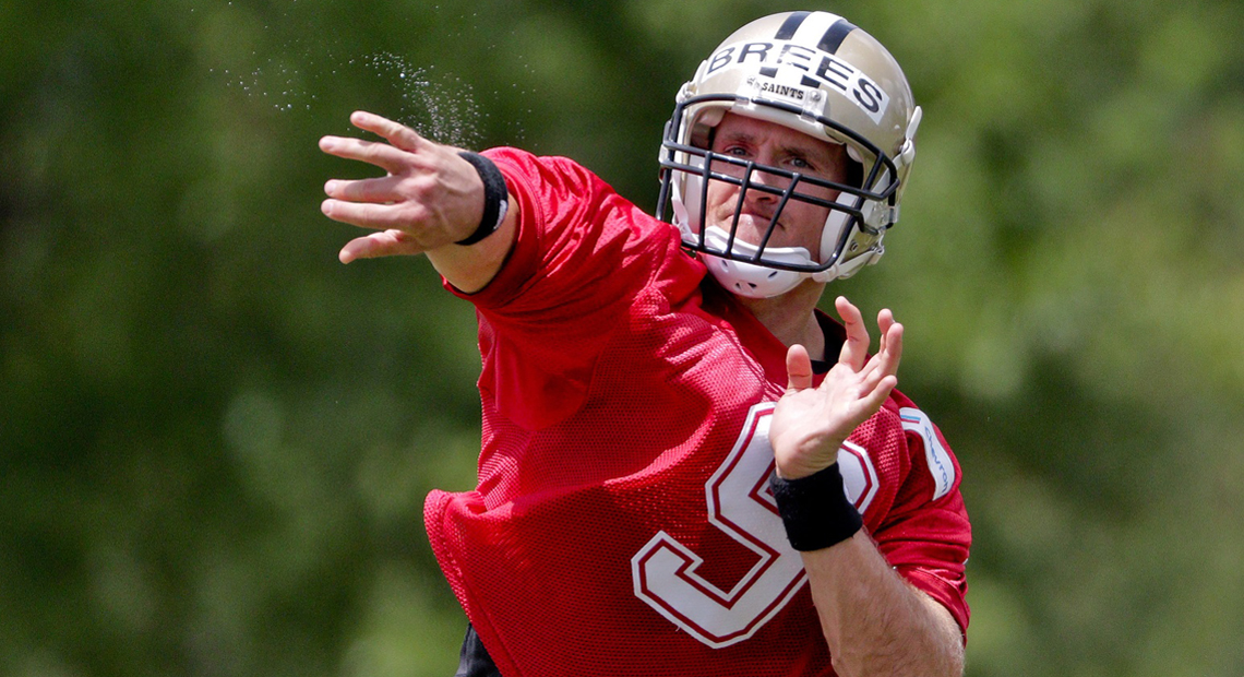 VIDEO: Madden To Reconsider Drew Brees Throwing Accuracy Of 93