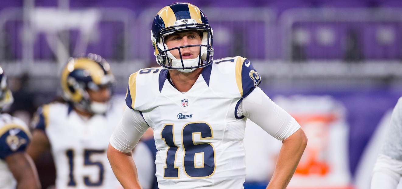 No. 1 Overall To Third String. Breaking Down The Jared Goff Situation