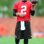 Browns Ask Fans To Register To Watch Johnny Manziel At Training Camp