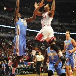 Derrick Rose Blows Right Past Ty Lawson With Crossover