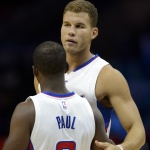 VIDEO: Blake Griffin Can't Help But Laugh At Chris Paul's Little Slip-Up