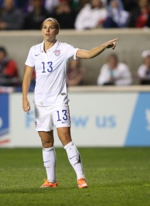 PICS: Alex Morgan Breaks Hearts Everywhere And Gets Married
