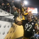 VIDEO: James Harrison & Steelers Play Volleyball With A Medicine Ball