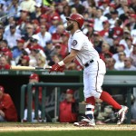 VIDEO: Bryce Harper Hits Opening Day Home Run... Again