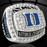 PICS: Bling, Bling. NCAA Releases Picture Of Duke's Championship Ring