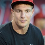 VIDEO: The Gronk Shows Los Angeles Angels Fans That He Can Fire Strikes