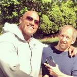 PIC: Only The Rock Hits A Parked Car, And Doesn't Have To Pay For Damages