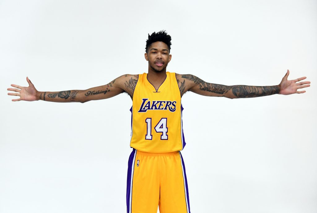 Brandon Ingram May Be D'Angelo Russell's Road Block To Stardom