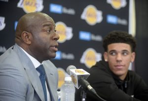 "Magic On Lonzo: ""He Is Going To Get Triple Doubles In The Regular Season"""