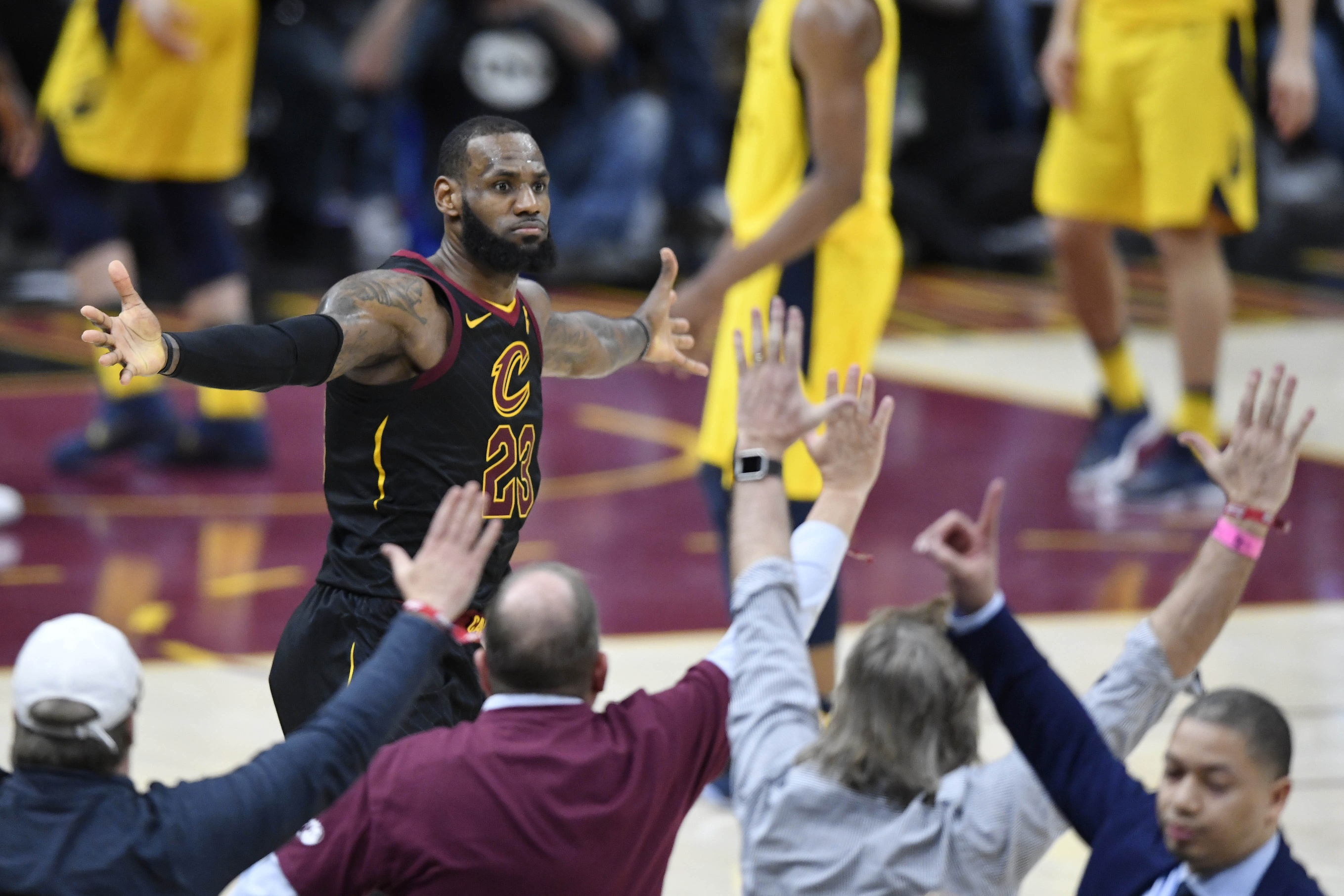 LeBron Nails Buzzer Beater, But Did He Commit Goaltending First? | SportsLingo