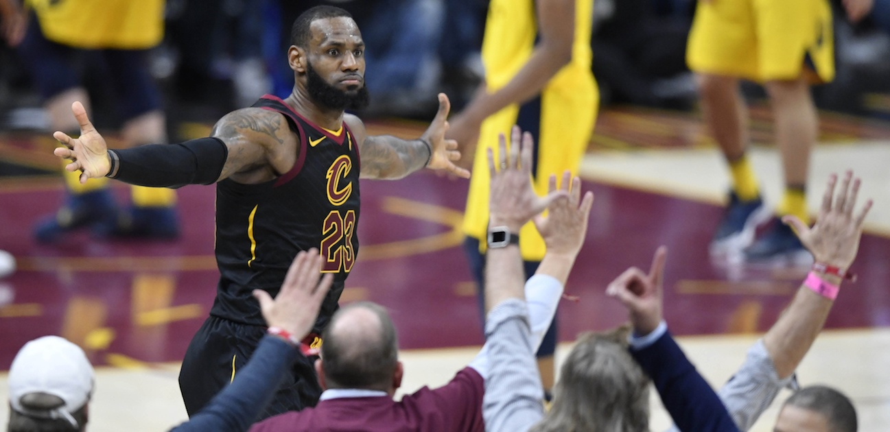 LeBron Nails Buzzer Beater, But Did He Commit Goaltending First?
