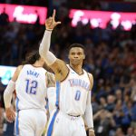 Westbrook Makes History. Averages Triple Double For 2nd Straight Season
