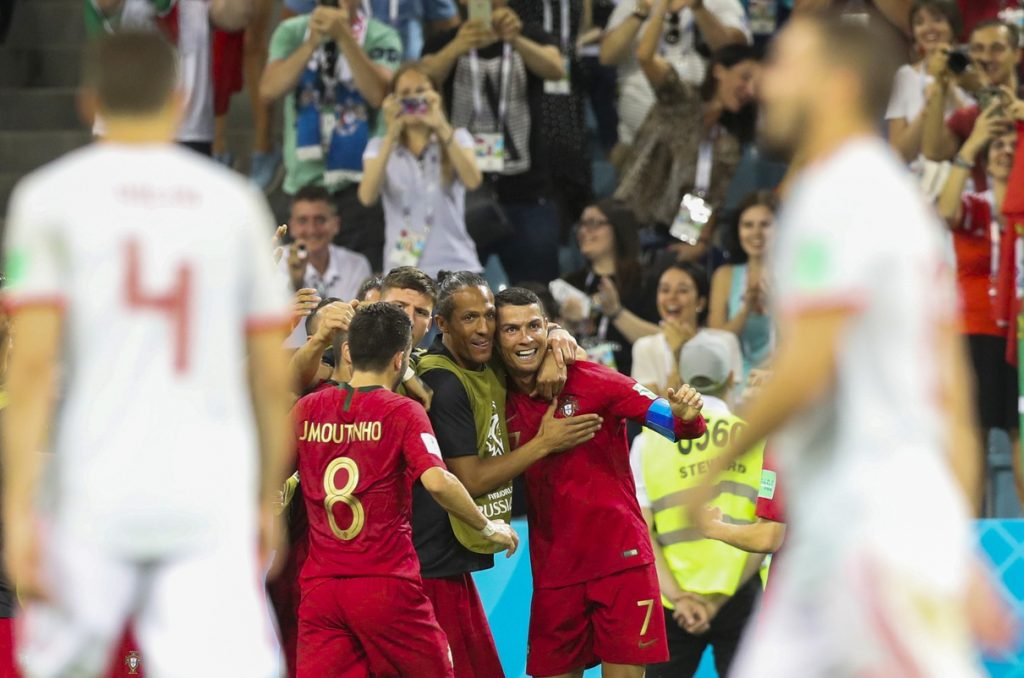 Cristiano Ronaldo Makes History With Hat Trick In 2018 World Cup