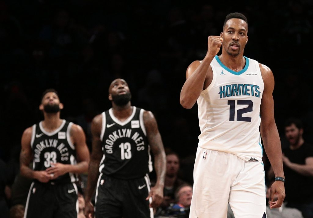 The Charlotte Hornets Ship Dwight Howard To The Brooklyn Nets