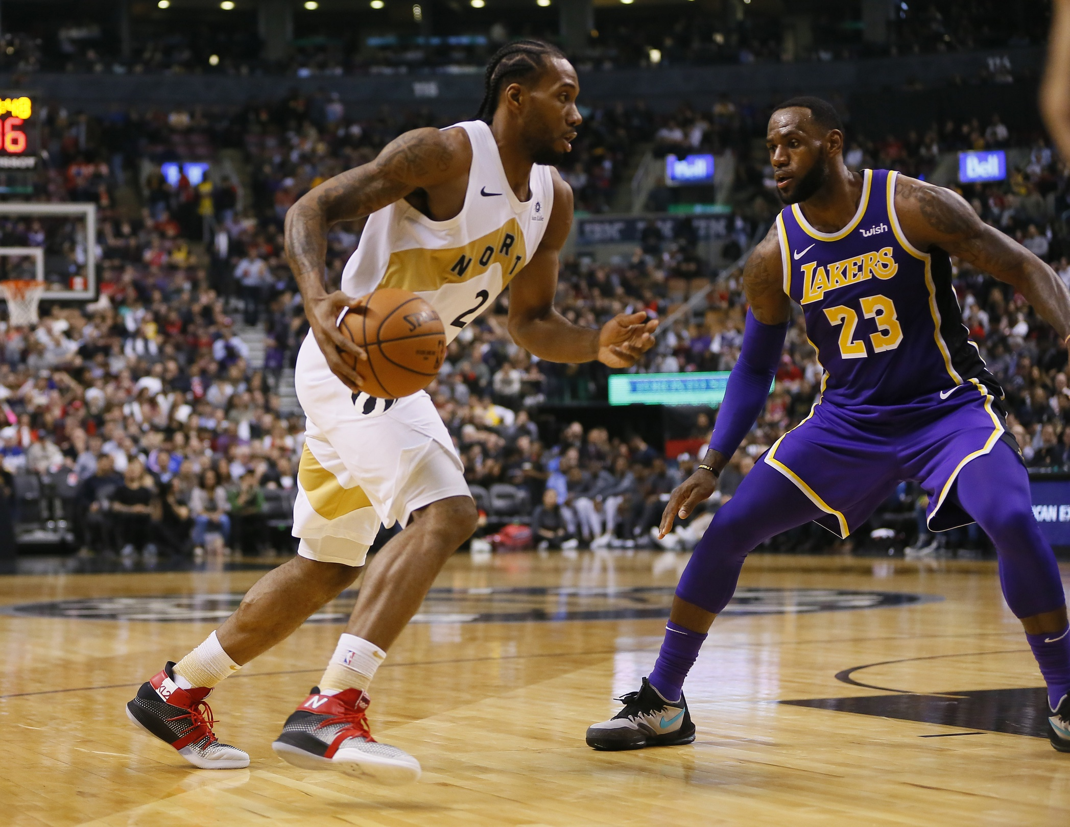 "Could Kawhi Become A Laker? Report Say He's ""Seriously Considering"" It"