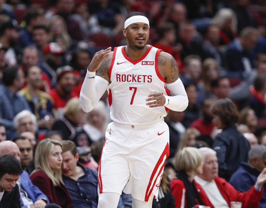 Melo Is Back. Portland Trail Blazers Activate Carmelo Anthony For Tonight