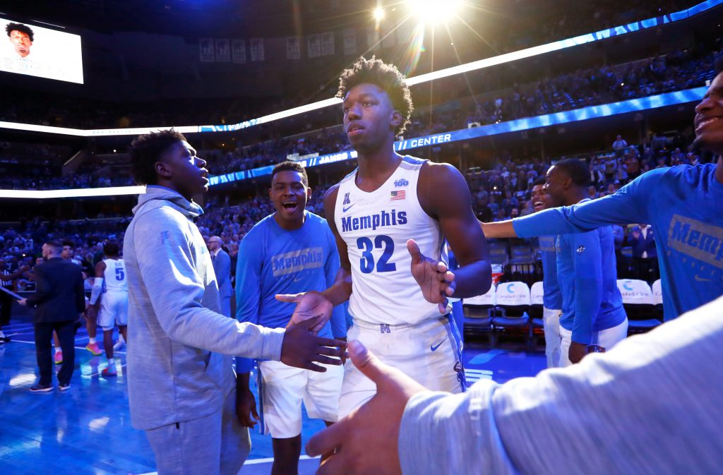 NCAA Suspends Memphis' James Wiseman 12 Games