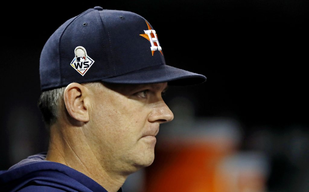 Astros Dealt Historic Punishment, Fire A.J. Hinch & Jeff Luhnow