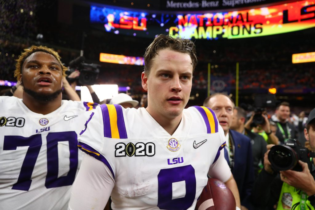 LSU's Joe Burrow Caps Season With Championship & Records