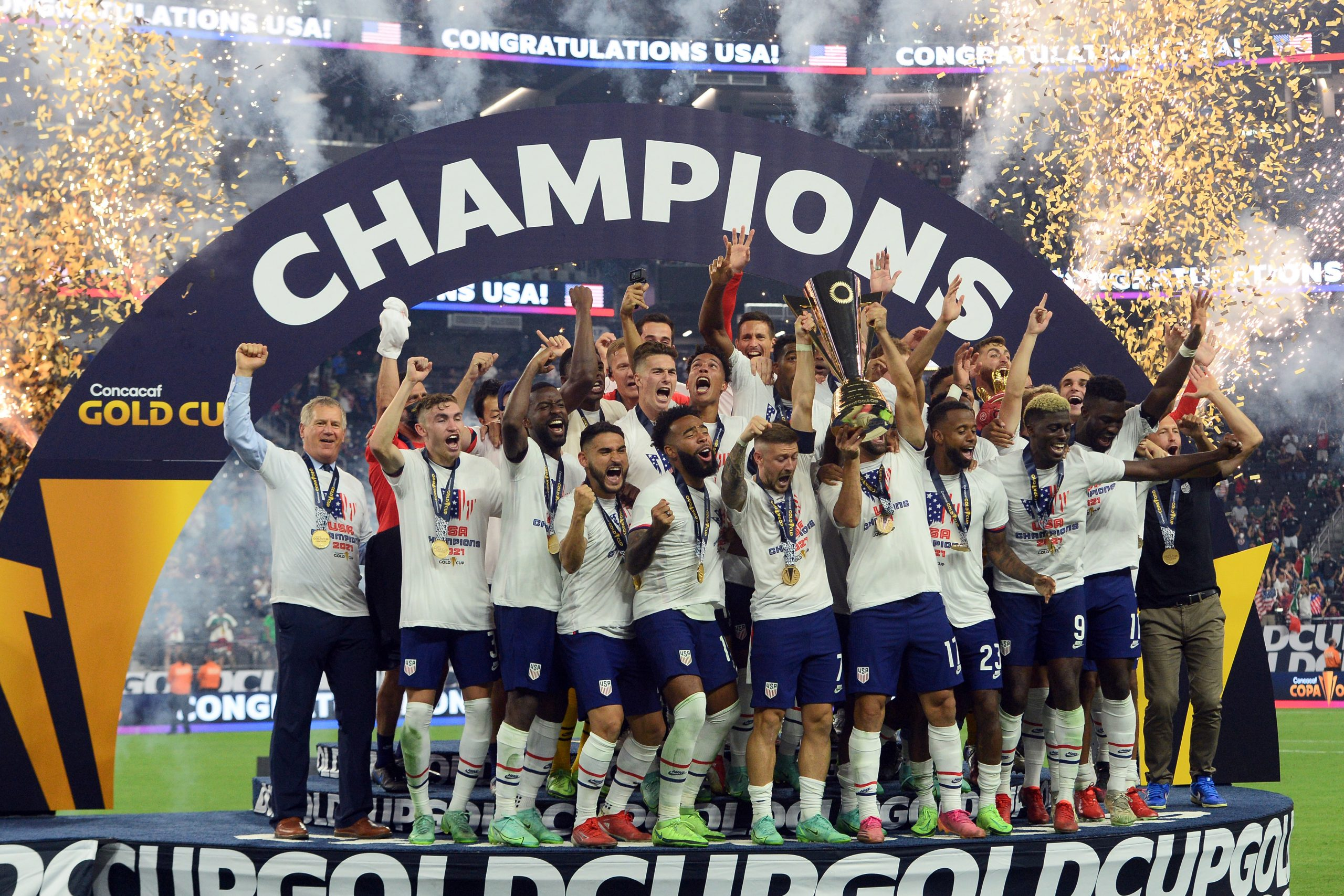 U.S. Men's Soccer Wins CONCACAF Gold Cup, USWNT Gold Medal Dreams Dashed